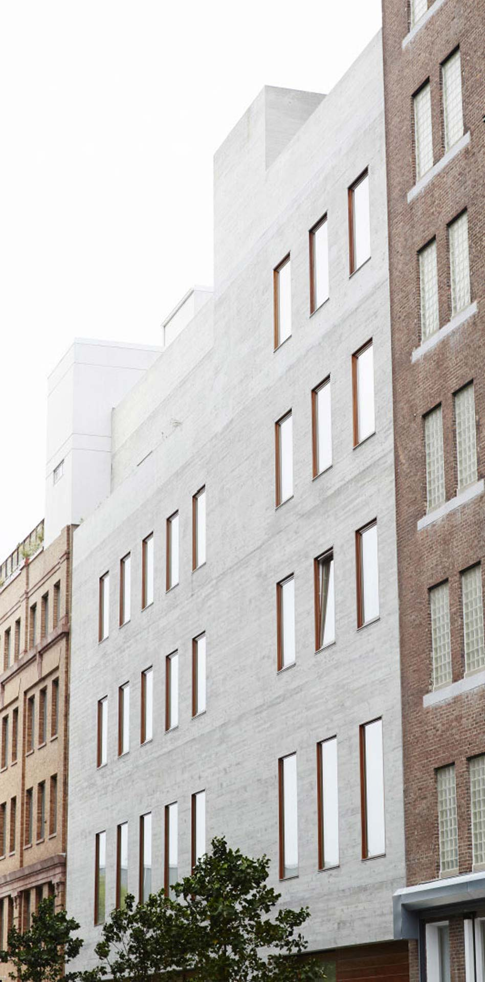Annabelle Selldorf's David Zwirner Gallery on 20th Street