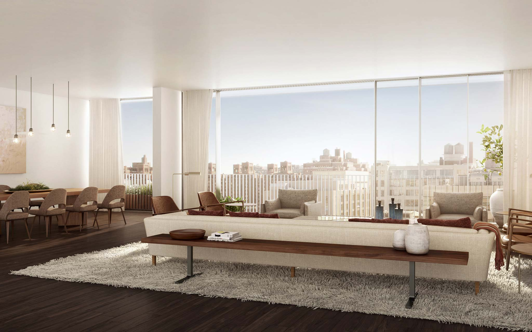 West Chelsea Condos Living Room