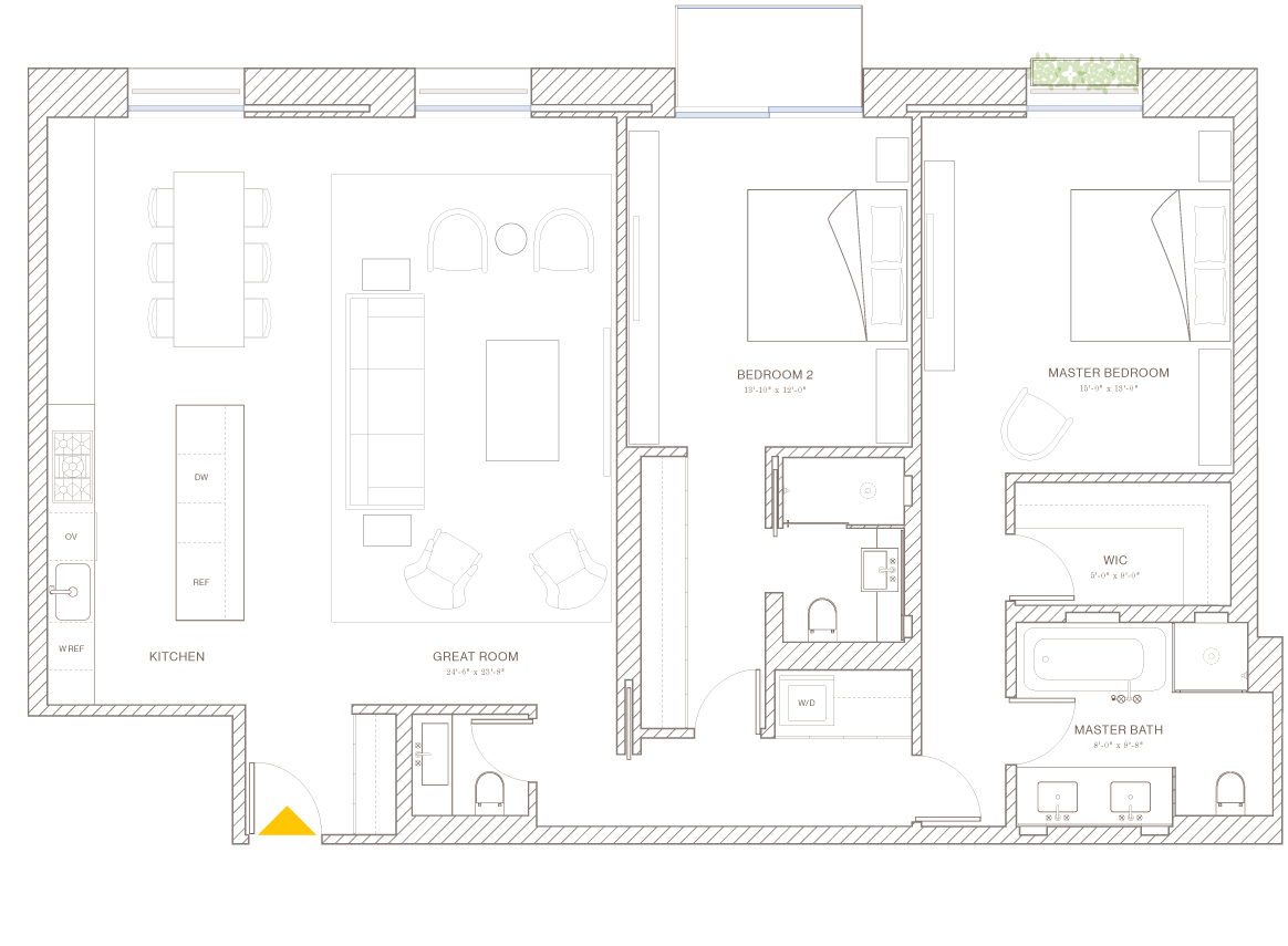 Norte: Floorplan 6B