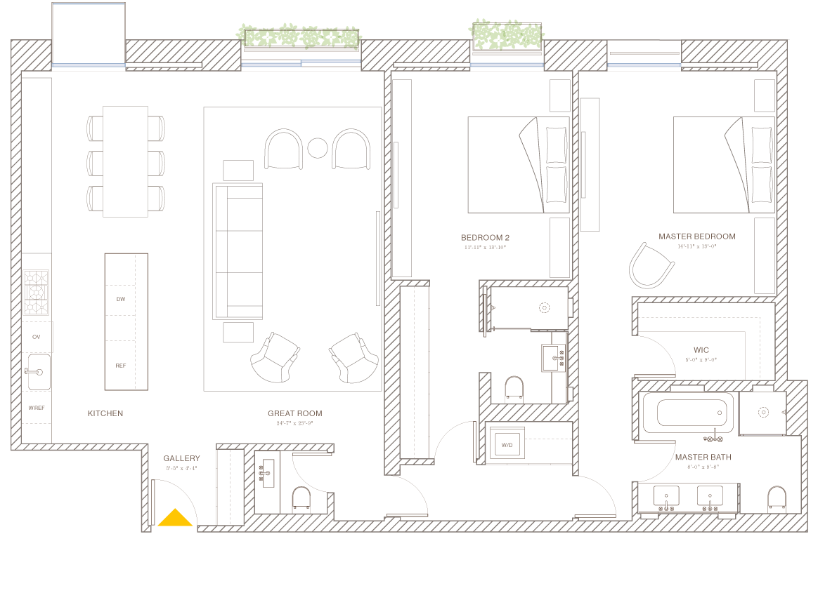 Norte: Floorplan 7B